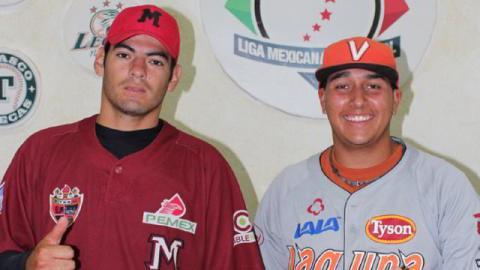 Juan Mares y Jesús Flores, Jugadores de la Semana en la Liga Clase AA