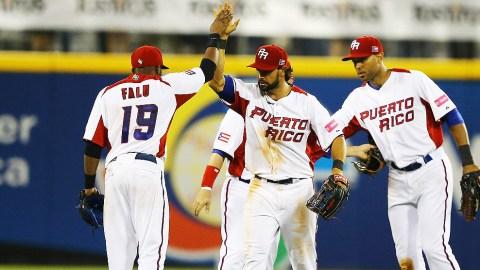 Felicitación de Puerto Rico en el Clásico Mundial