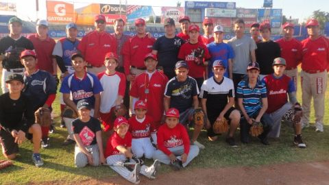 Foto oficial del inicio de la Academia de Venados de Mazatlán