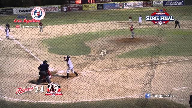 Primer juego de la Serie Final 2014 LNM