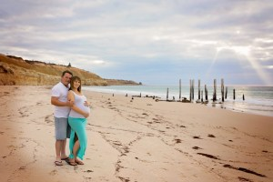 Port Willunga Beach Maternity Photo