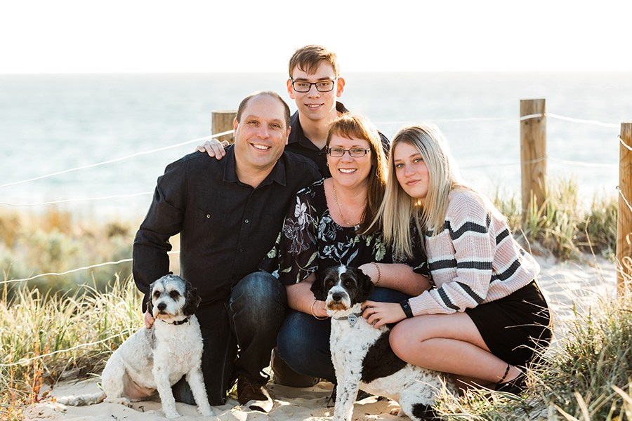 adelaide+summer+beach+family+photo+session