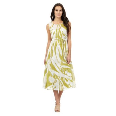Debenhams Green Floral Dress