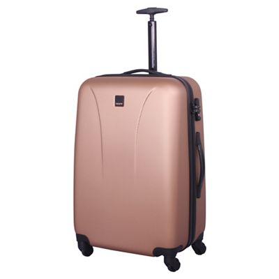 Tripp Rose gold 'Lite' 4 wheel medium suitcase | Debenhams