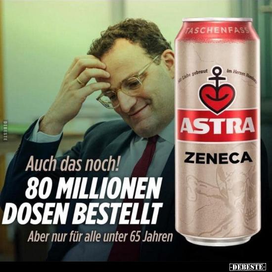 1 lustige bilder von astra zeneca bier