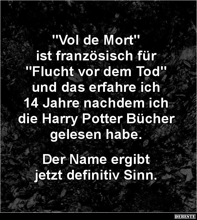 Vol De Mort Ist Franzosisch Fur