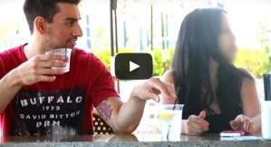 Experimento social muestra lo fácil que es drogar a una mujer en un bar