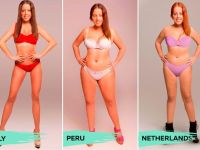 Estas imágenes demuestran que la belleza femenina es subjetiva