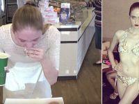 [Video] Modelo australiana es capaz de comer una docena de donuts en solo 96 segundos