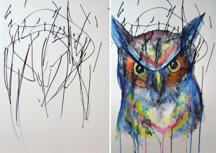 artist-turns-childrens-drawings-into-paintings-4-730x518