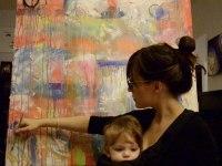 Mira lo que hace esta madre con los garabatos de su hija