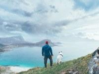 Un joven noruego renuncia a una vida cómoda para perseguir su sueño de viajar con su adorable perro Akiak cuyas aventuras son  sensación en Instagram