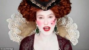 Un video recrea los dos mil años de maquillaje: de una diosa griega a una belleza moderna vampy