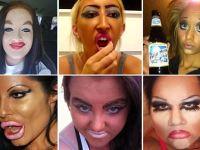 ¿Podrían ser estos los peores maquillajes del mundo?