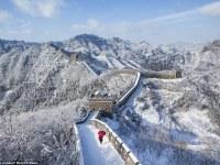 Gran nevada en China: Las principales atracciones turísticas han transformado el país en un paraíso invernal