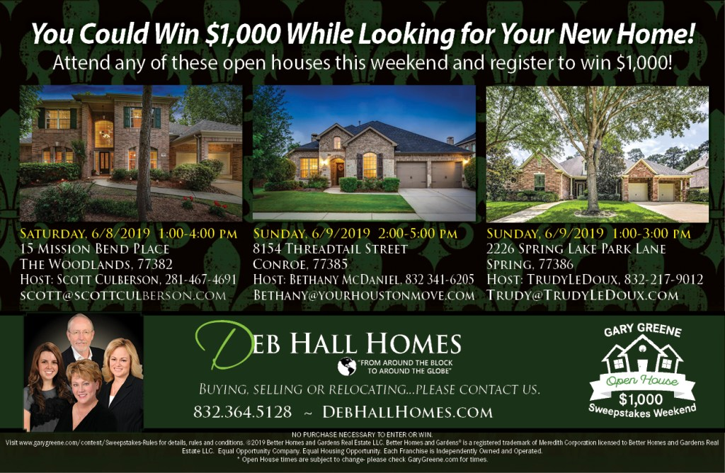 Open House – Deb Hall Homes