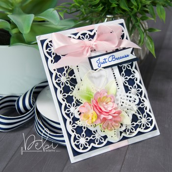 Layers of Lace-An Easy but Fancy Card Tutorial