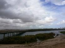 Ponte da Sabiaguaba sobre a foz do rio Cocó