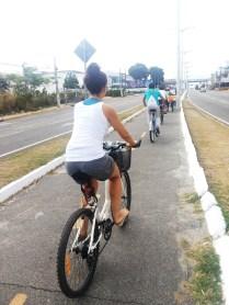 Ciclovia da avenida Washington Soares