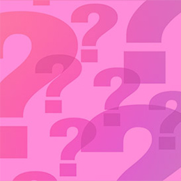 colored question marks
