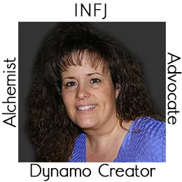 Debi - My Archetypes - INFJ, Advocate, Alchemist and Dynamo Creator