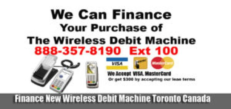 We Accept Credit Cards For Services We are a merchant POS terminals Toronto Gets $300 $29.99 For the deskTop POS debit Machine $39.99 For Wireless Payment Processing Toronto You can buy DeskTop debit machine for $375 on your credit card. Or two payments of $250 You can buy Wireless debit machine for $475 on your credit card. Or two payments of $300