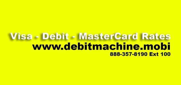 Visa MasterCard Rates canada