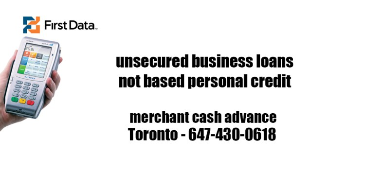 unsecured business loans not based personal credit toronto