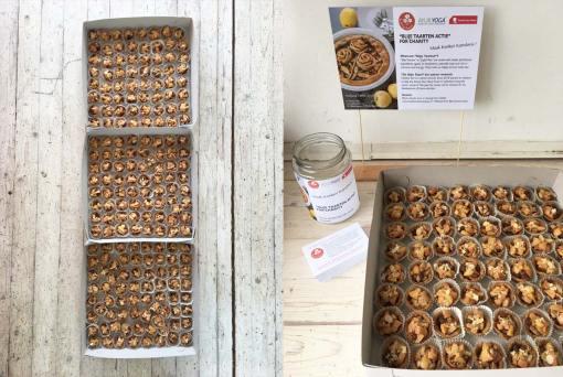fabiana toni de blije taart blije tartellettes goeie doel vegan gezond Yoga Theraphy Conference 2019 Maak Kanker Kansloos
