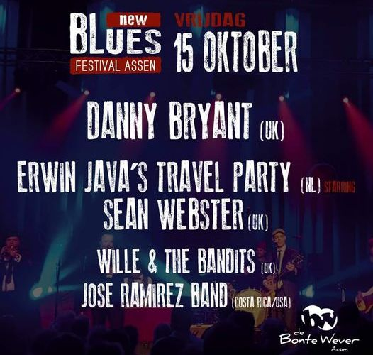 New Blues Festival Assen | 15 oktober