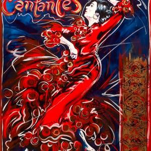 Café Cantantes 40 x 30