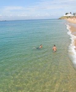 Banho de mar em Salvador, Litoral Norte, Litoral Sul, Morro de São Paulo e Ilhas.