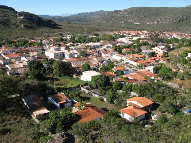 Centro da Cidade de Mucugê, em Chapada Diamantina.