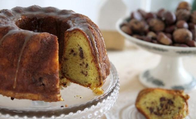 Le Bundt cake pépites et caramel revu et allégé