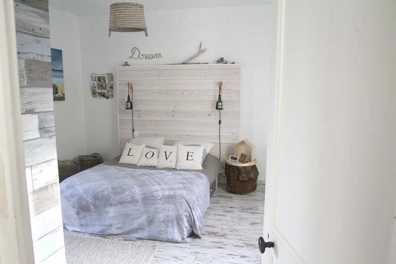 Chambre parentale décoration nature