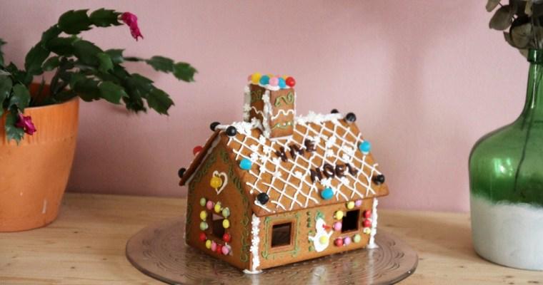 Une maison en pain d'épices