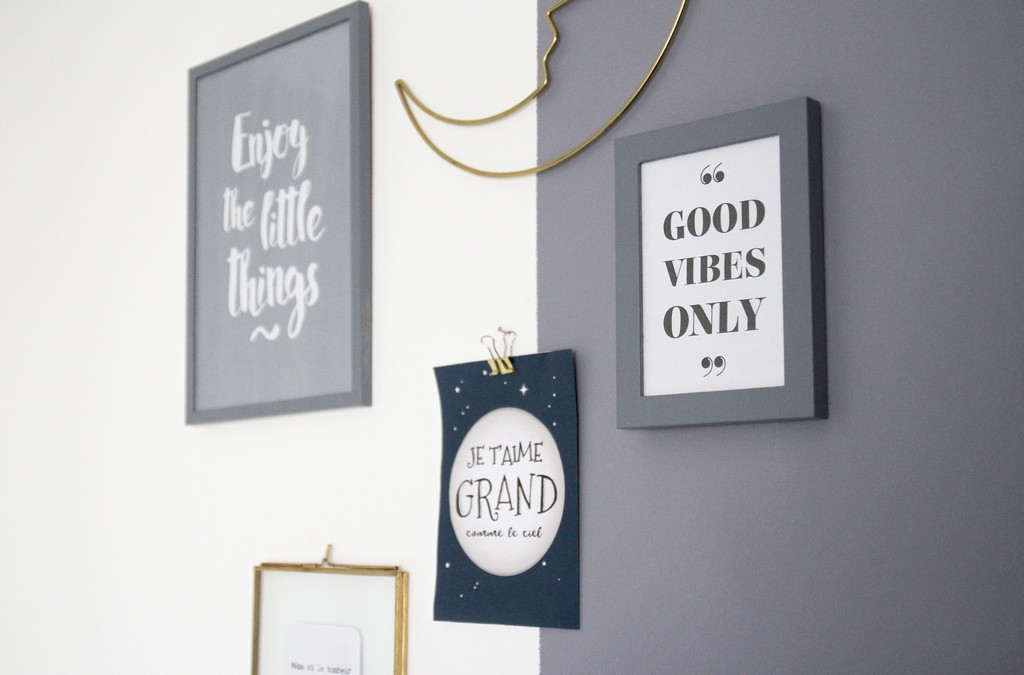Des affiches positives pour bébé
