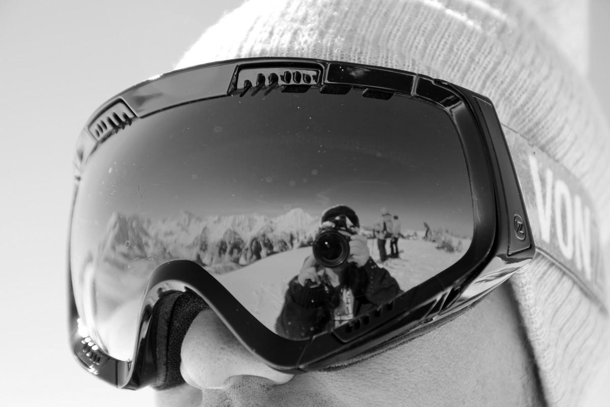En snowboard et en amoureux