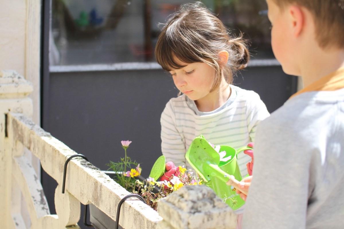 Et si on les laissait jardiner?