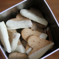 Les biscuits façon Granola au chocolat blanc