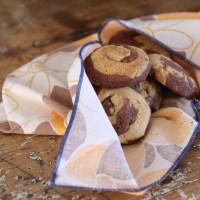 Biscuits marbrés