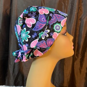 colorful scrub hat