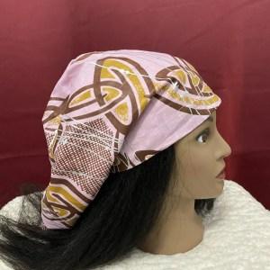 pink satin lined bonnet