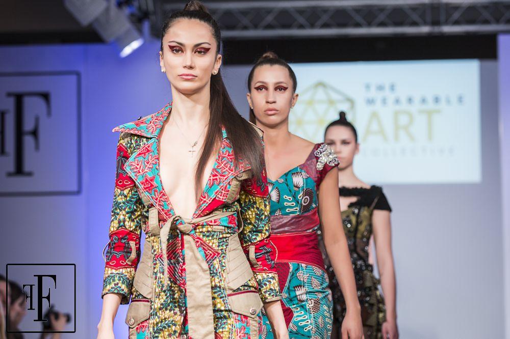 Ghanaian Fashion Designer Vanessa Harrison showcases at London