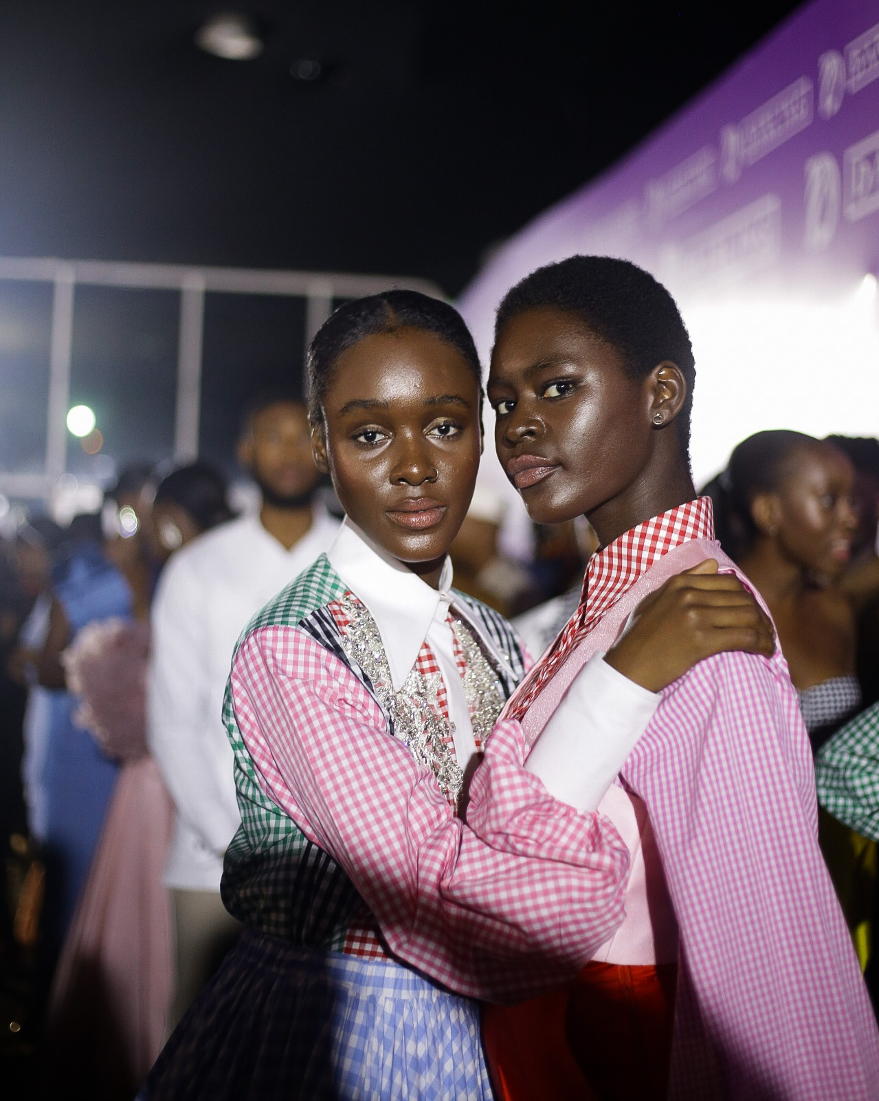 Backstage Photos From Lagos Fashion And Design Week 2019