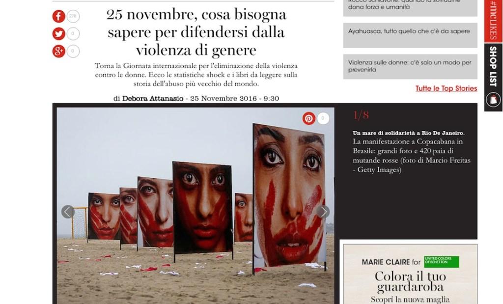 25 novembre, difendersi dalla violenza di genere