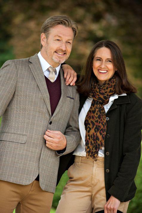 Deborah Hirzel and Ian Harkin
