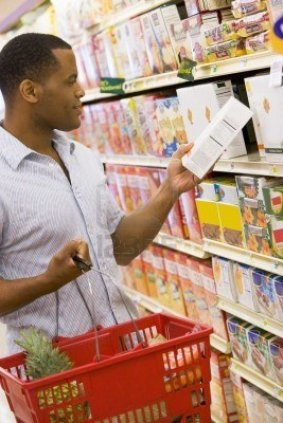 black guy in store-man-shopping-at-grocery-store