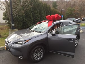 Deborah gets a Lexus