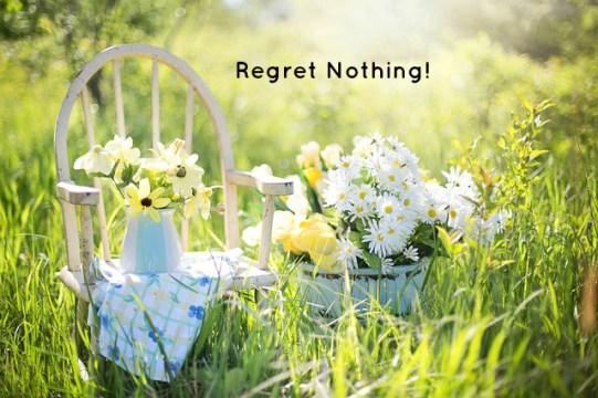 Regret Nothing!